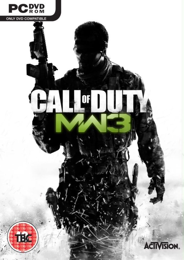 Leaked - Possible Modern Warfare 3 Cover Art