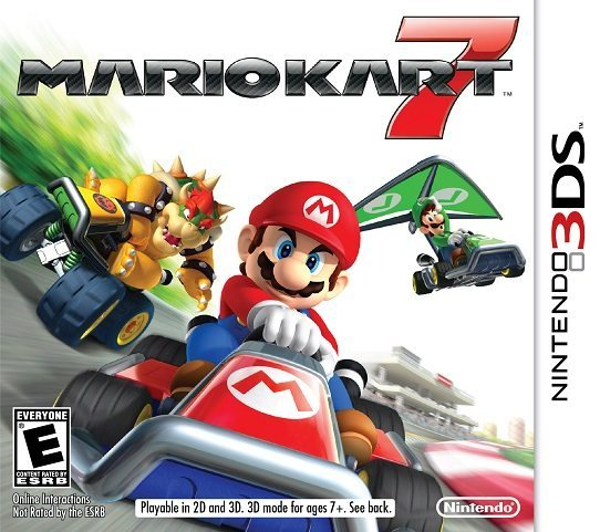 Mario Kart 7 Trailer from Nintendo 3DS Conference call