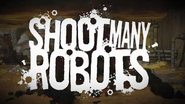 shoot many Robots blasts