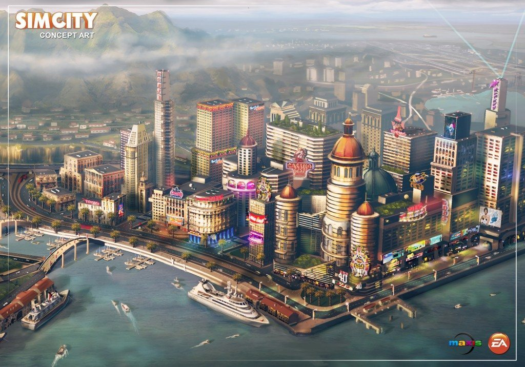 "Simcity to have DRM System not ""Origin Exclusive"""
