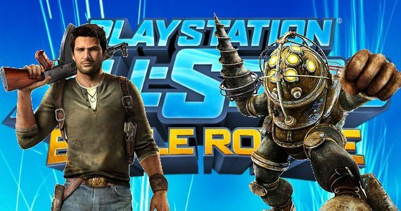Big-Daddy-and-Nathan-Drake-in-PlayStation-Allstars-Battle-Royale