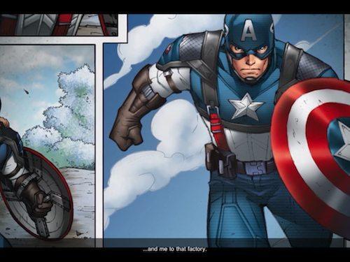 Captain America: Sentinel of Liberty Screenshot 1