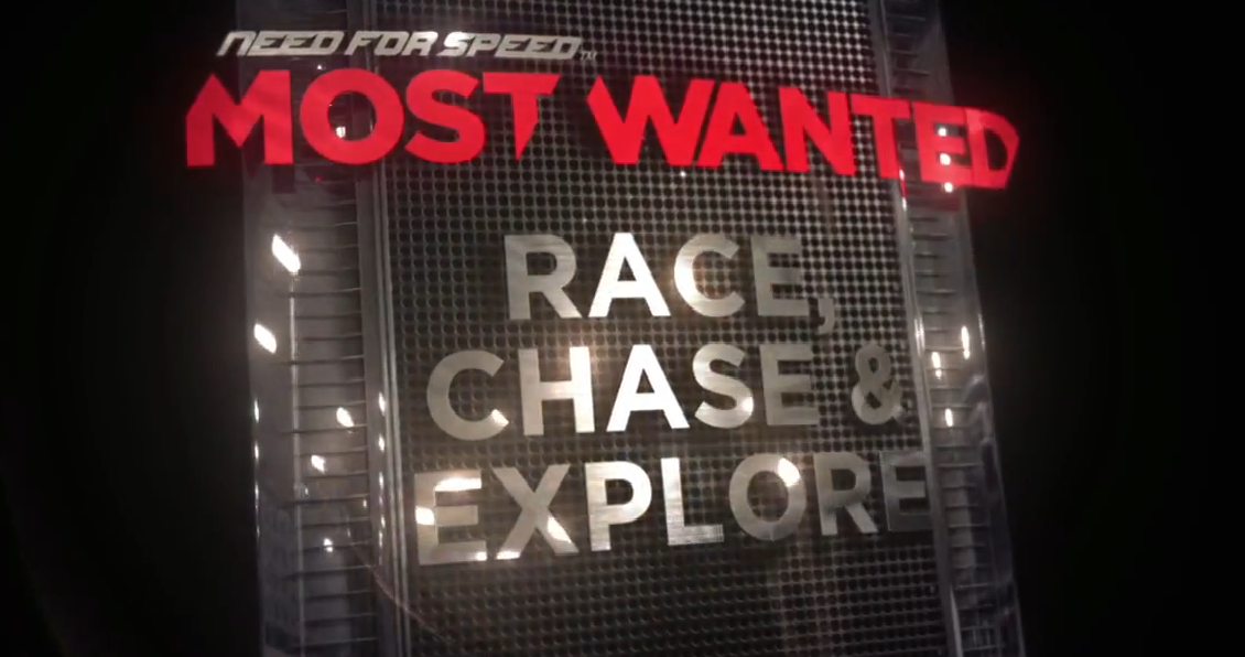 NFS Most Wanted Race, Chase, Explore