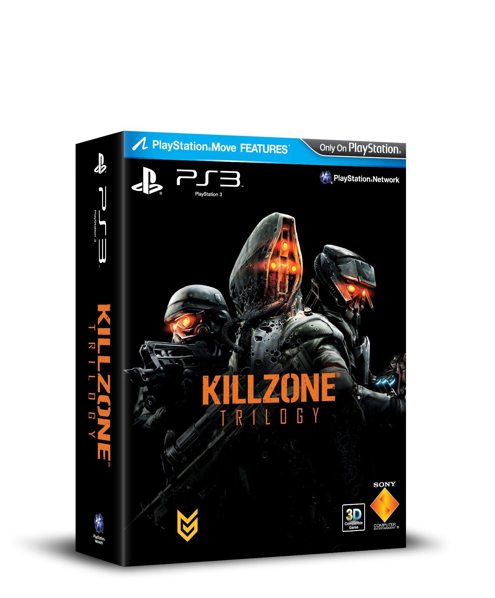 Killzone Trilogy box art
