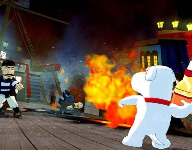 Family Guy Back to the Multiverse Review Screenshot 1