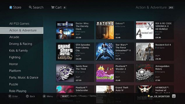 Browser Based PlayStation Store Coming to NA Featured Image