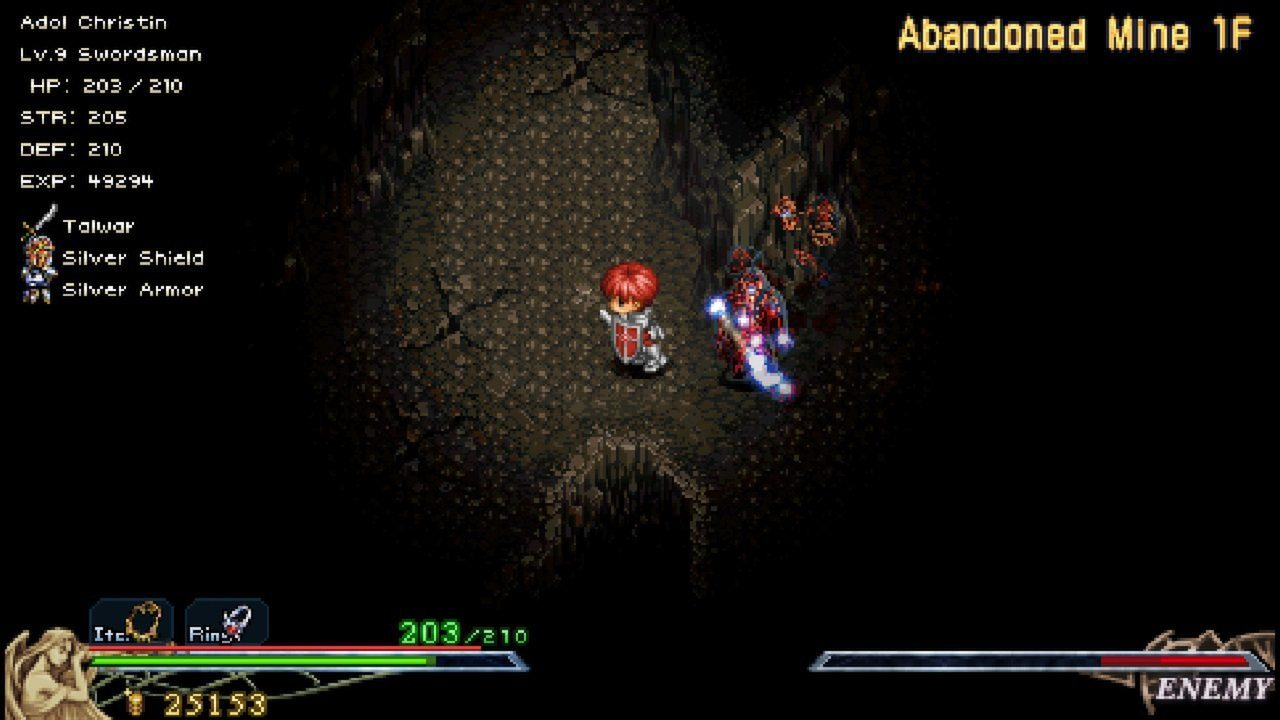 Ys I & II Chronicles+ Review Screenshot