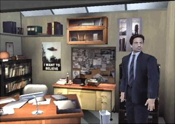 The iconic office. I actually own that poster on Mulder's wall