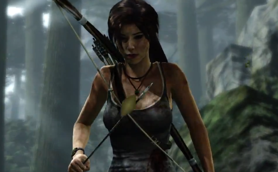 Tomb Raider - Lara in Forest