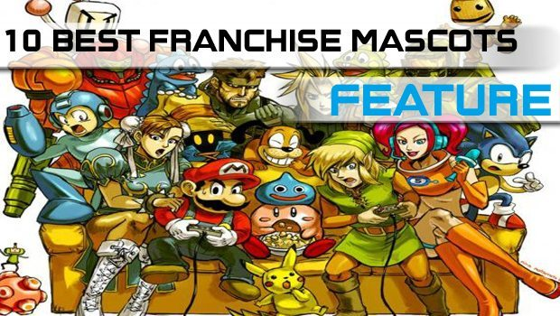 10 Best Game Franchise Mascots Ever featured image
