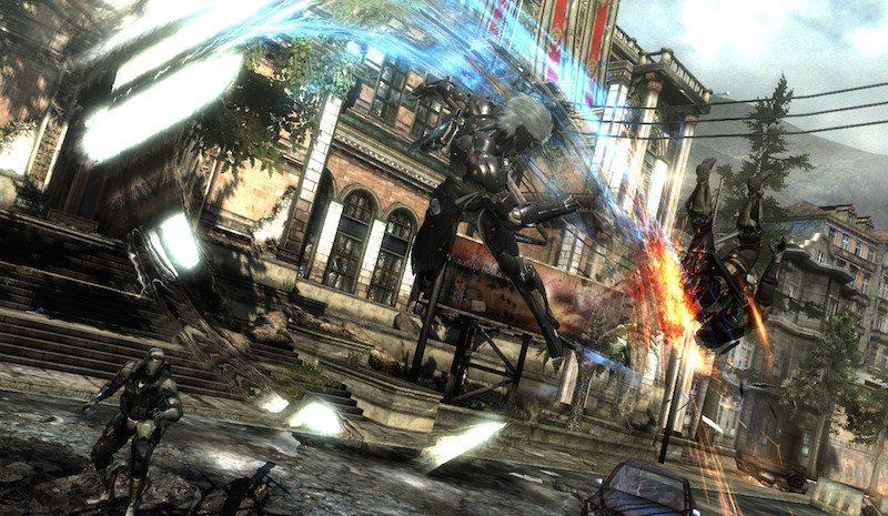 Metal Gear Rising Revengeance Combat BagoGames