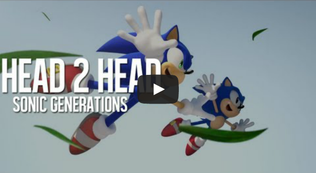 Head 2 Head   Hashtag vs Allan  Sonic Generations  Sky Sanctuary    YouTube