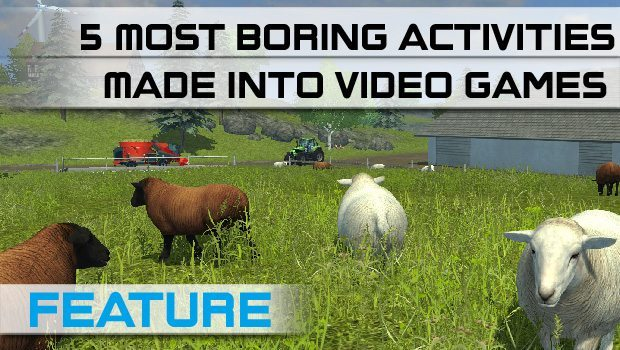 Top 5 Most Boring Activities Made into Video Games featured image