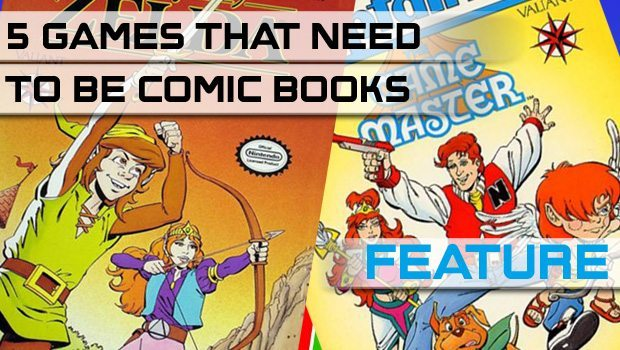 5 Games That Need To Be Comic Books featured image