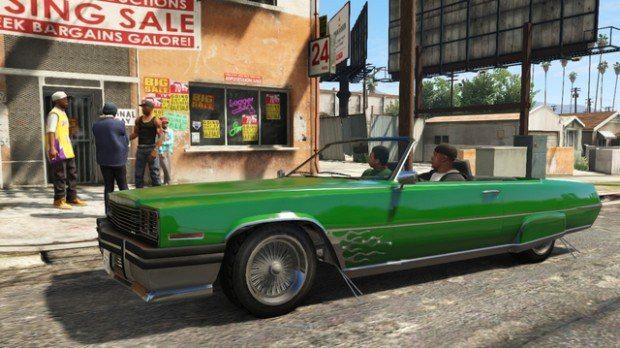 Grand Theft Aut o V