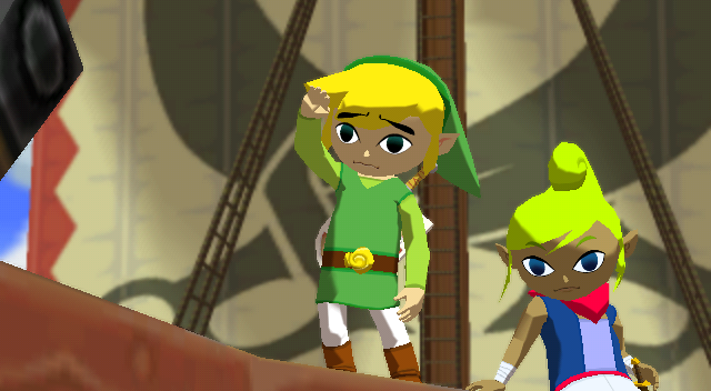 The_Wind_Waker_Link_waves_goodbye