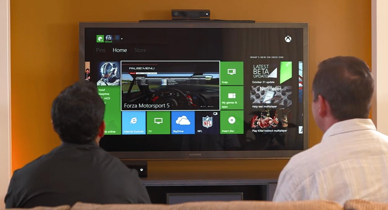 Xbox One UI Walkthrough