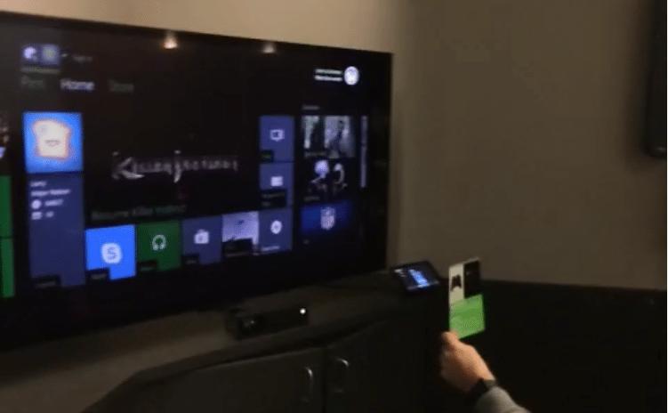 Xbox One QR Scanning