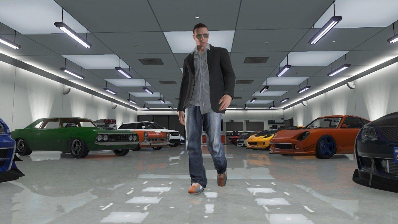GTA Online Garage - Bagogames.com