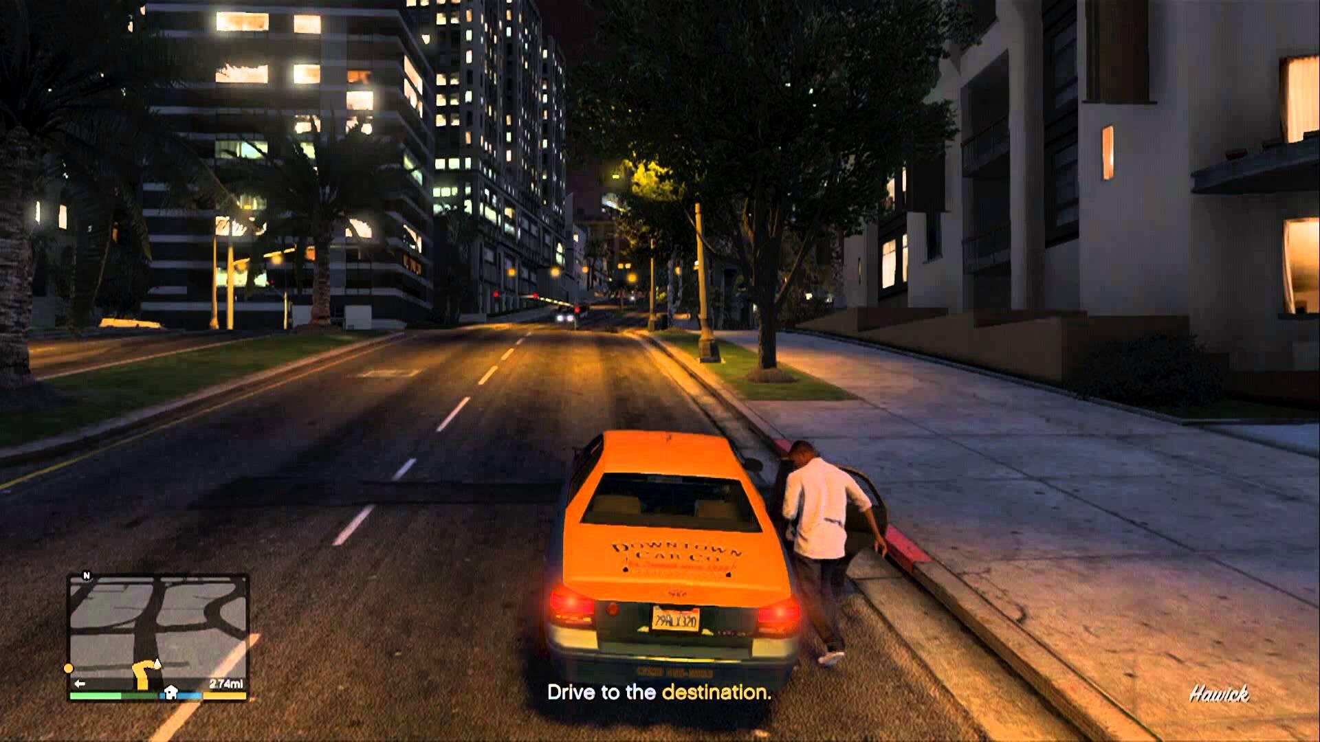 GTA V Cab - Bagogames.com