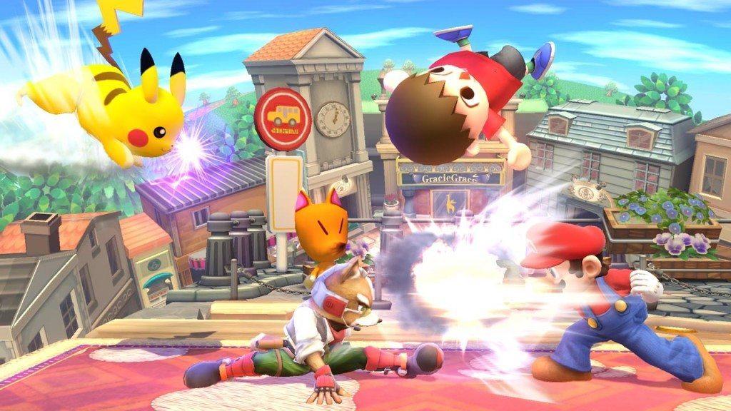 Smash Bros. battle