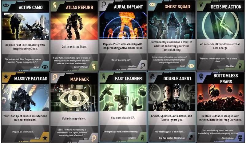 Titanfall Burn Cards BagoGames