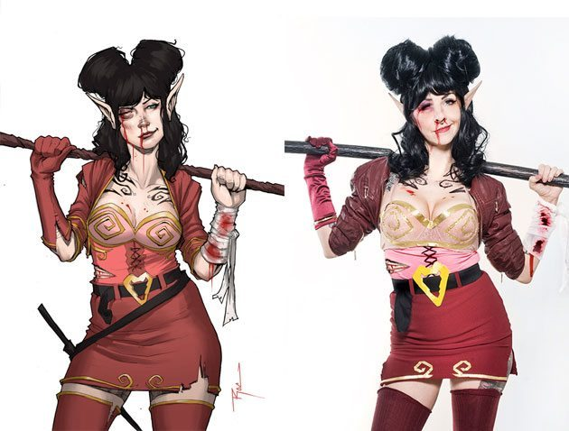 This Hannah cosplay is fantastic.