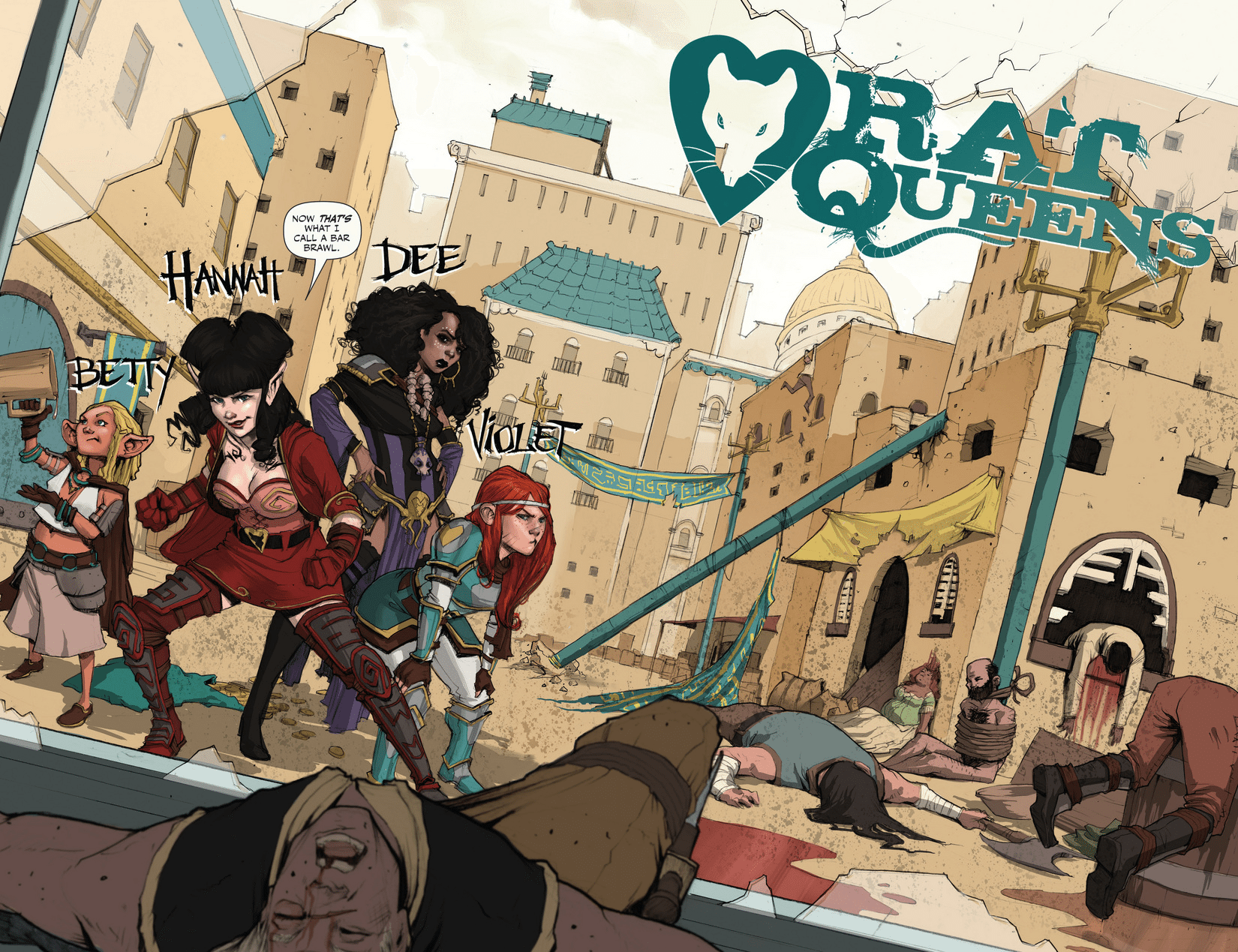 Rat Queens Feature Image