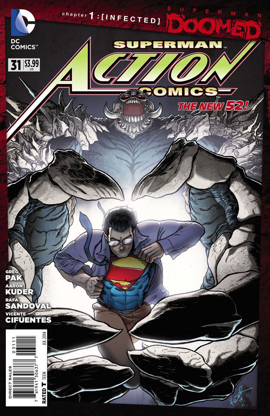 Action Comics 31 review
