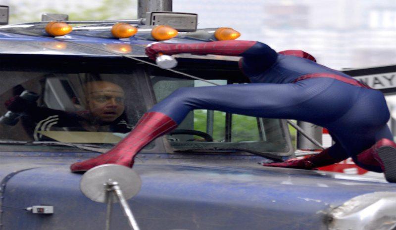Amazing Spider-man 2 Truck Scene