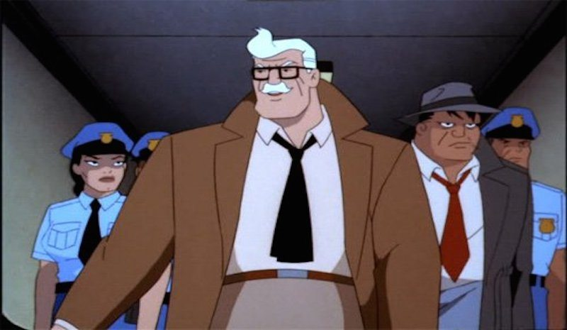 Commissioner Gordon Batman The Animated Series Bago Games
