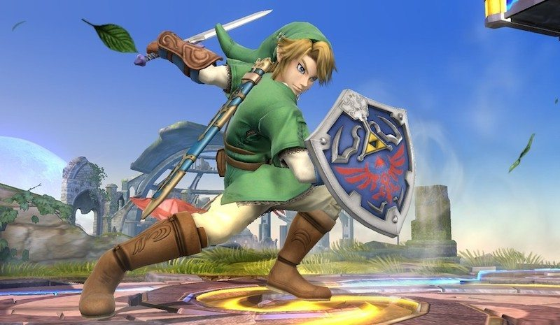 Link Smash Bros. for Wii U