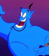 Robin William's Genie from Aladdin