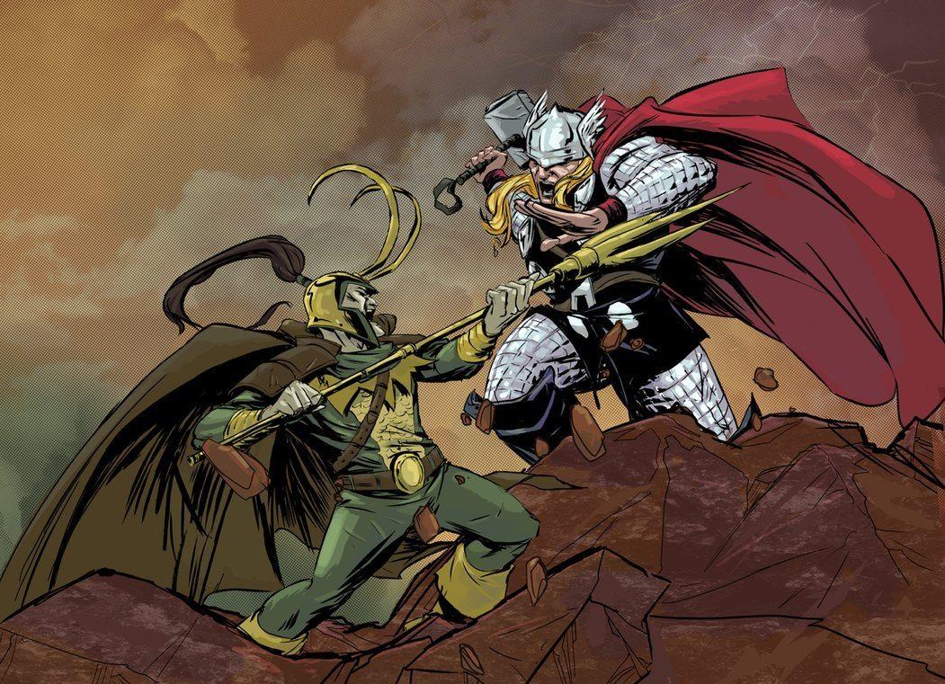 Thor & Loki Battle BagoGames