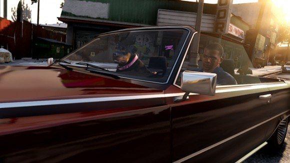 GTA V Next Gen Franklin Car BagoGames