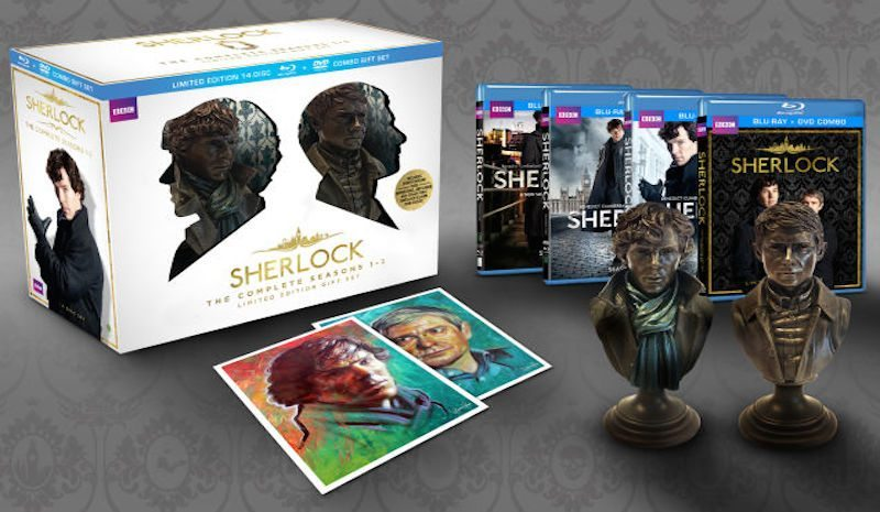 Sherlock Season 1-3 Collectors Edition BagoGames
