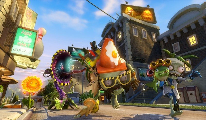 Plants vs. Zombies Garden Warfare Streets BagoGames