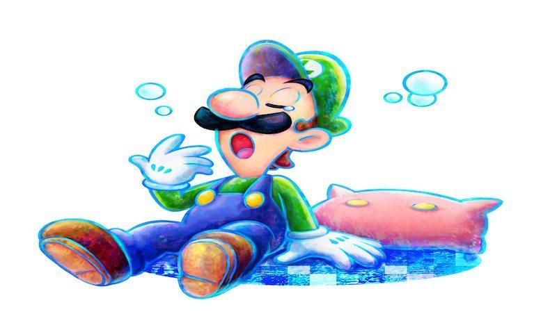Luigi Dream Team BagoGames