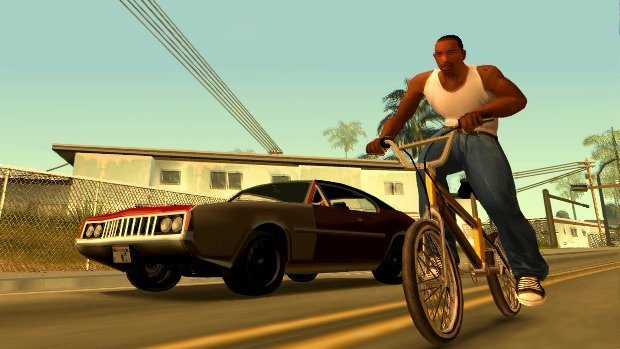 Grand Theft Auto San Andreas BagoGames