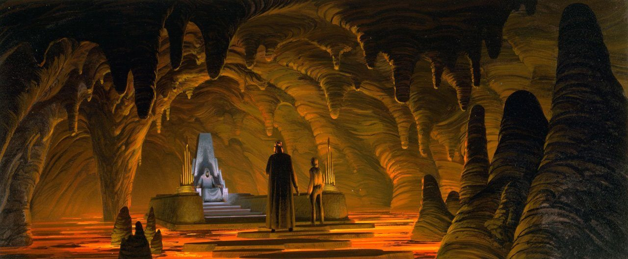 Star Wars Lava Throne Room BagoGames
