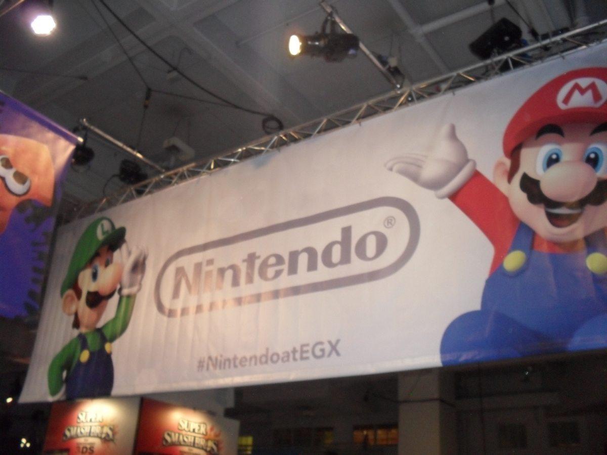 Entrance To Nintendo Booth