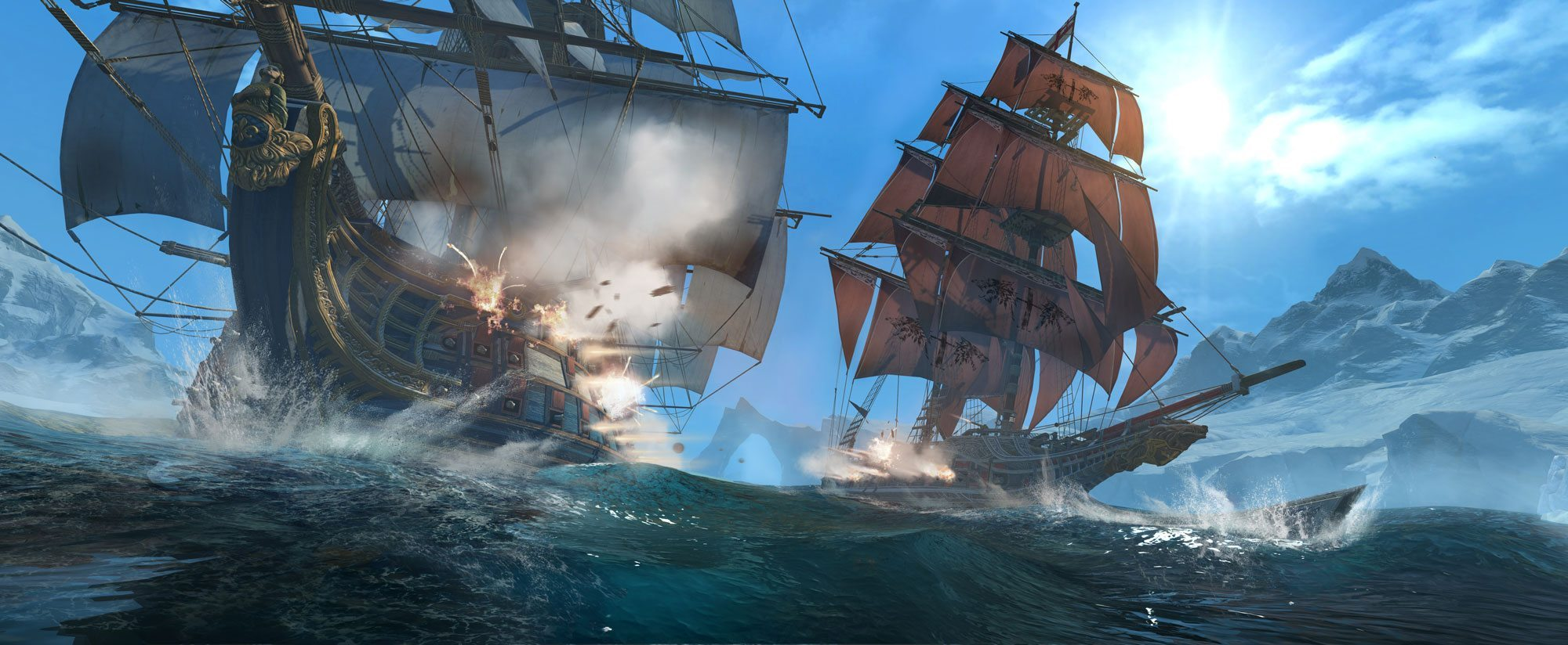 Assassins Creed Rogue Sea Battle BagoGames