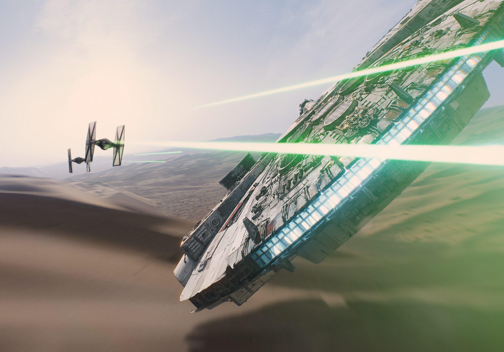 The Force Awakens Falcon BagoGames
