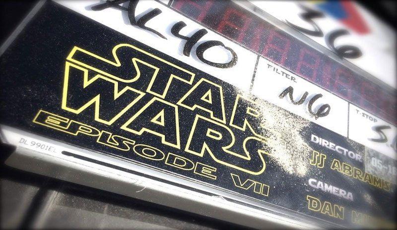 Star Wars VII Clapboard BagoGames