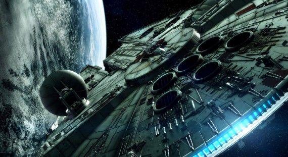 Star Wars 7 Millenium Falcon Concept Art BagoGames