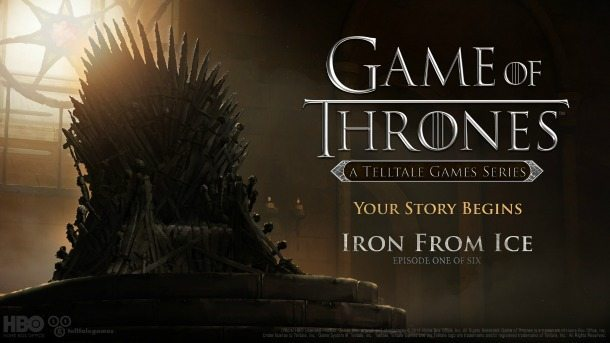 Telltale Iron From Ice Game of Thrones BagoGames
