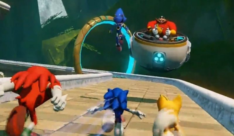 Sonic Boom Rise of Lyric Track BagoGames