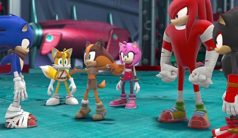 Sonic Boom Rise of Lyric Team BagoGames