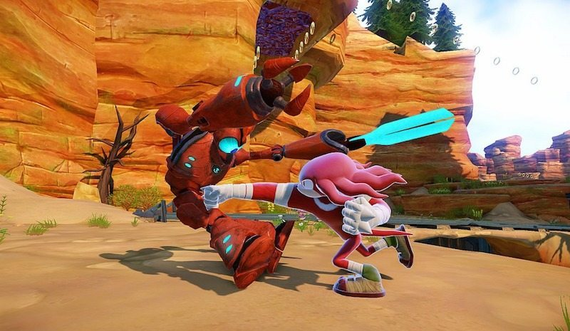 Sonic Boom Rise of Lyric Knuckles BagoGames