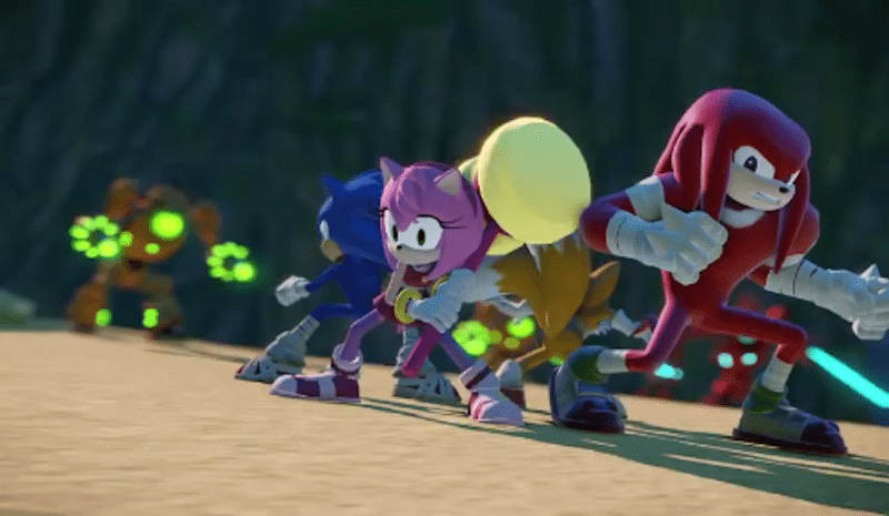 Sonic Boom Rise of Lyric Fight BagoGames